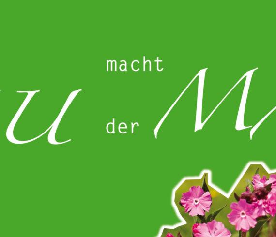Alles NEU macht der MAI Grün Blumen magenta Storytelling Corona